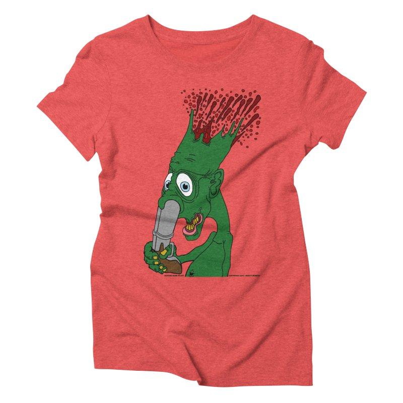 Suicide Nose Blast Women's Triblend T-Shirt by Spiral Saint - Artist Shop