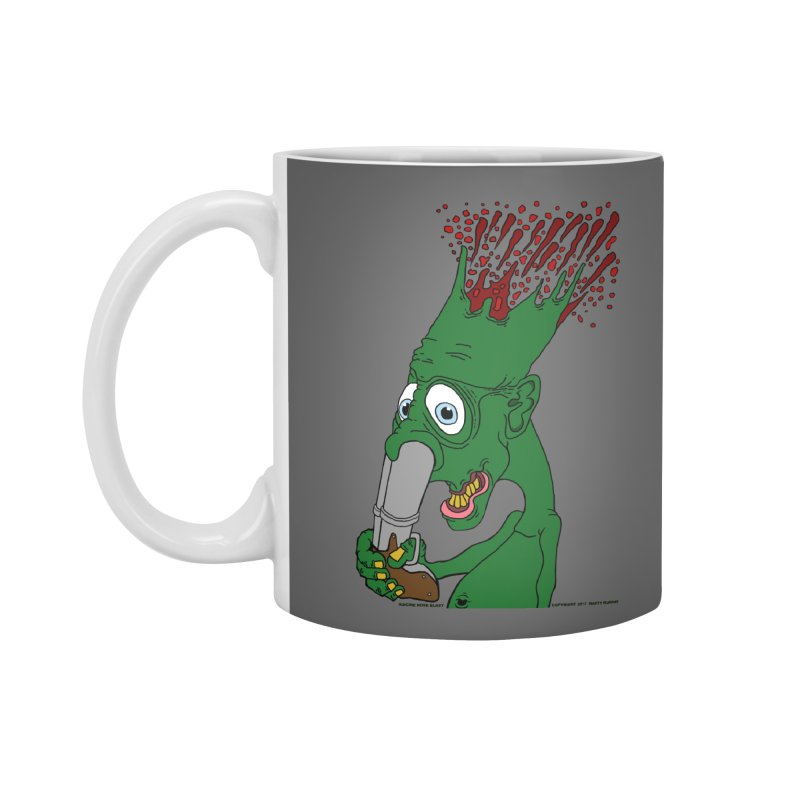 Suicide Nose Blast Accessories Standard Mug by Spiral Saint - Artist Shop