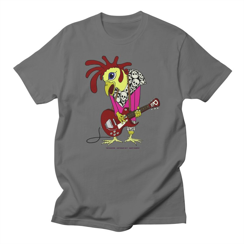 The Rooster Men's T-Shirt by Spiral Saint - Artist Shop