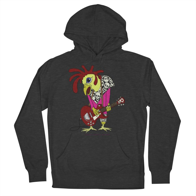The Rooster Women's Pullover Hoody by Spiral Saint - Artist Shop