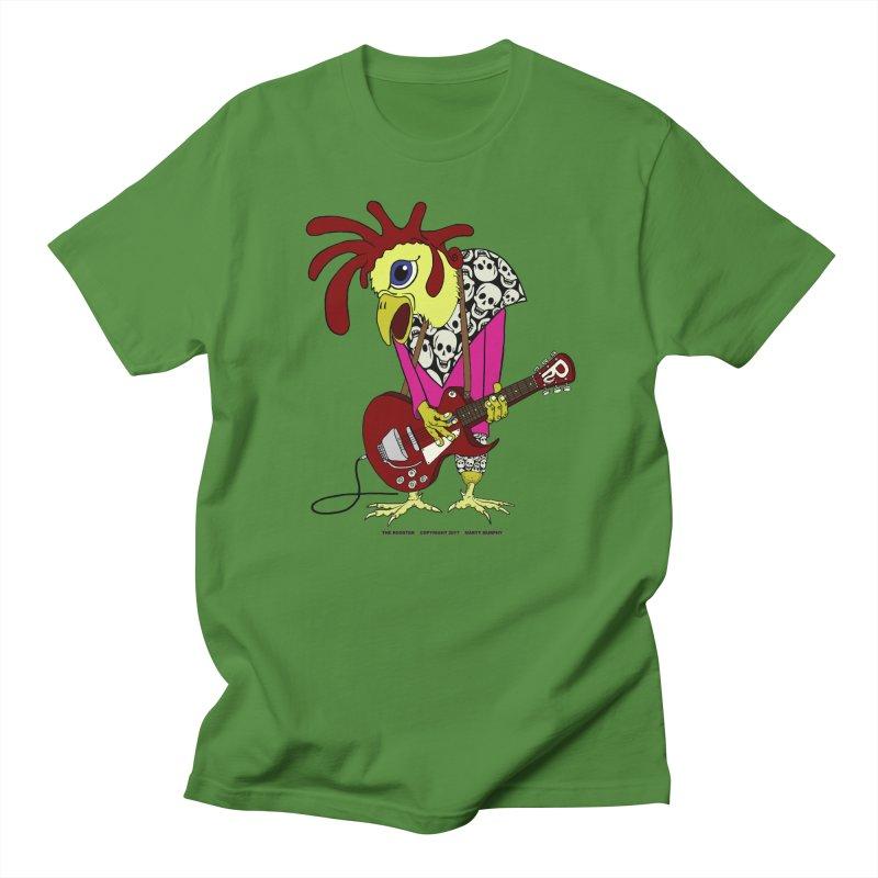 The Rooster Women's Regular Unisex T-Shirt by Spiral Saint - Artist Shop