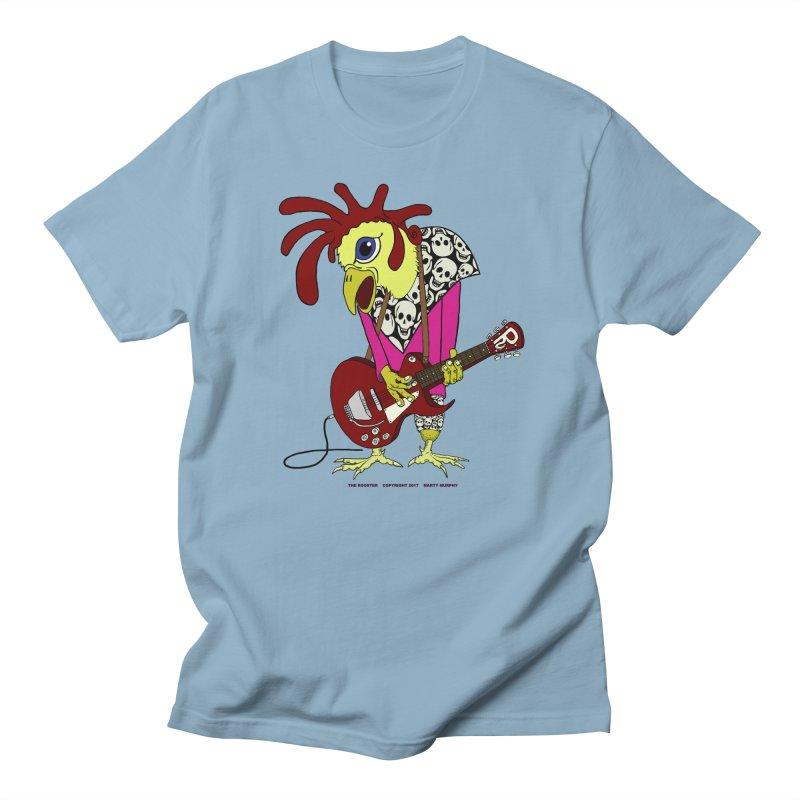 The Rooster Men's Regular T-Shirt by Spiral Saint - Artist Shop