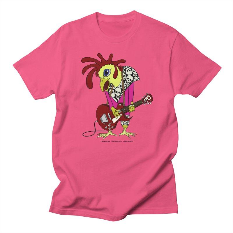 The Rooster Men's T-Shirt by Spiral Saint - Artist Shop
