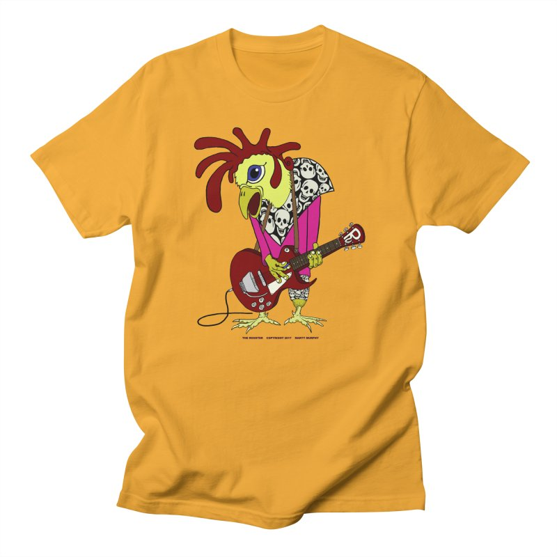 The Rooster Women's Regular Unisex T-Shirt by Spiral Saint - Artist Shop