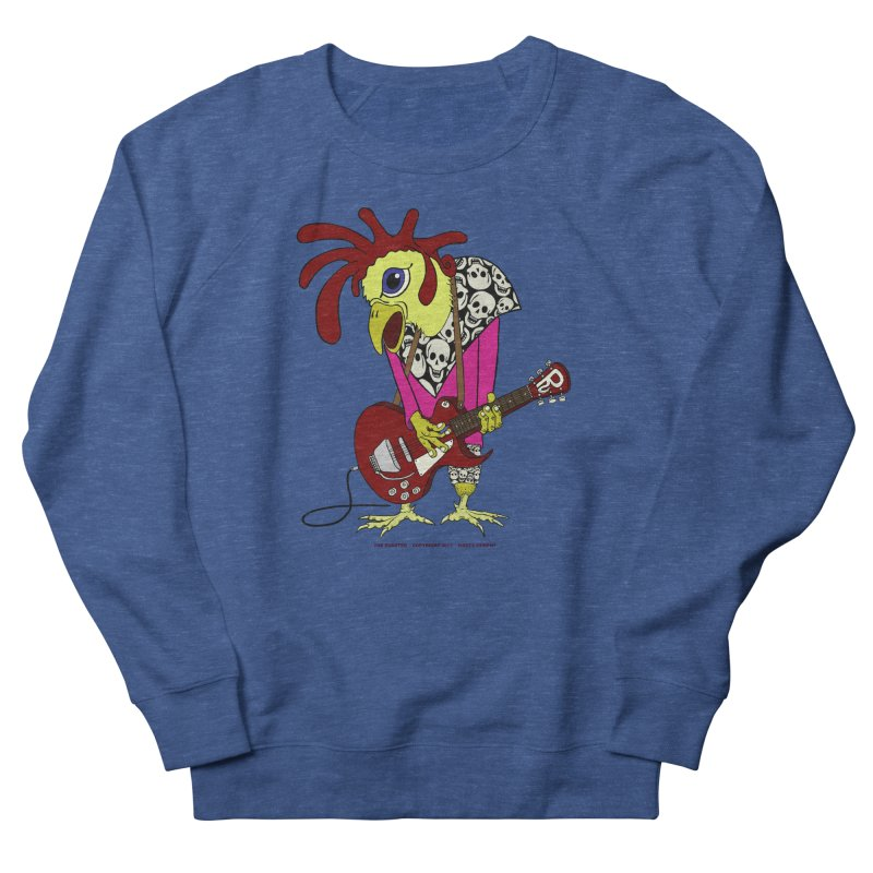 The Rooster Women's Sweatshirt by Spiral Saint - Artist Shop