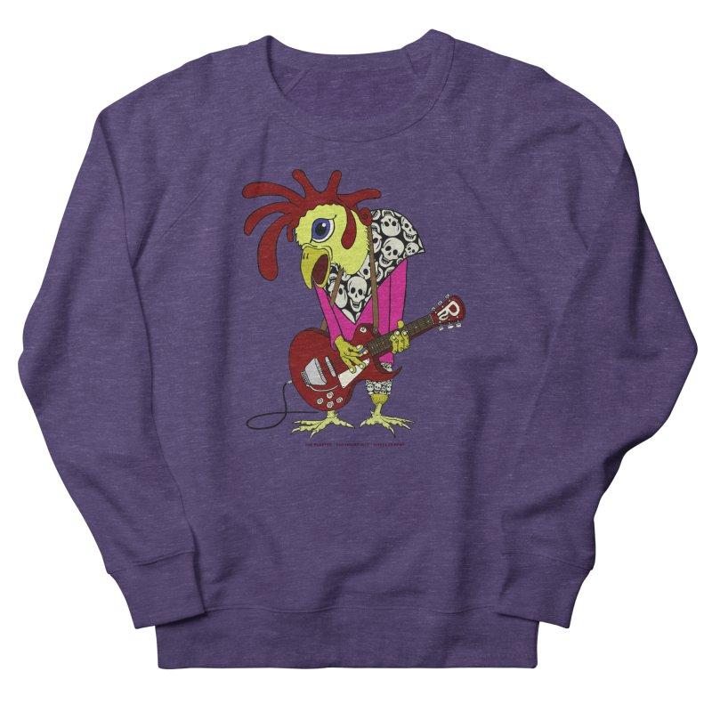 The Rooster Men's Sweatshirt by Spiral Saint - Artist Shop