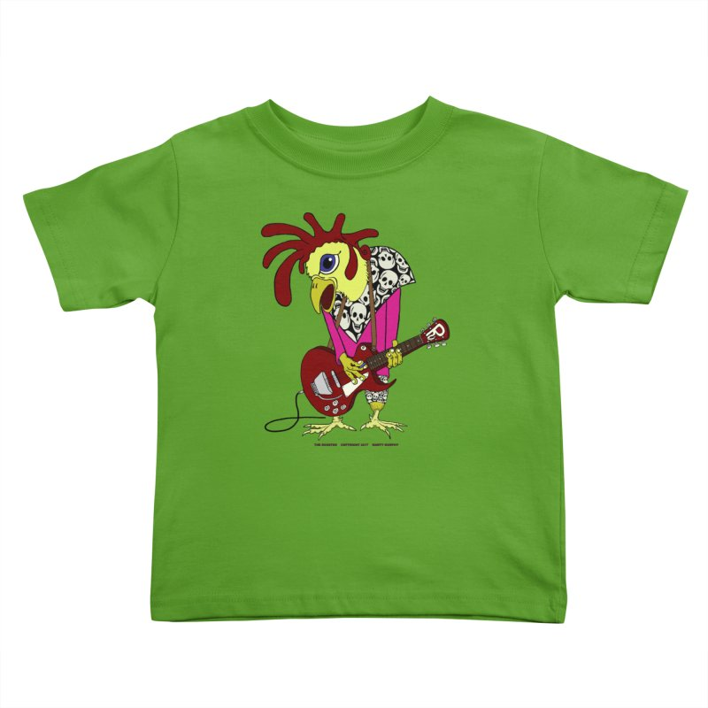 The Rooster Kids Toddler T-Shirt by Spiral Saint - Artist Shop