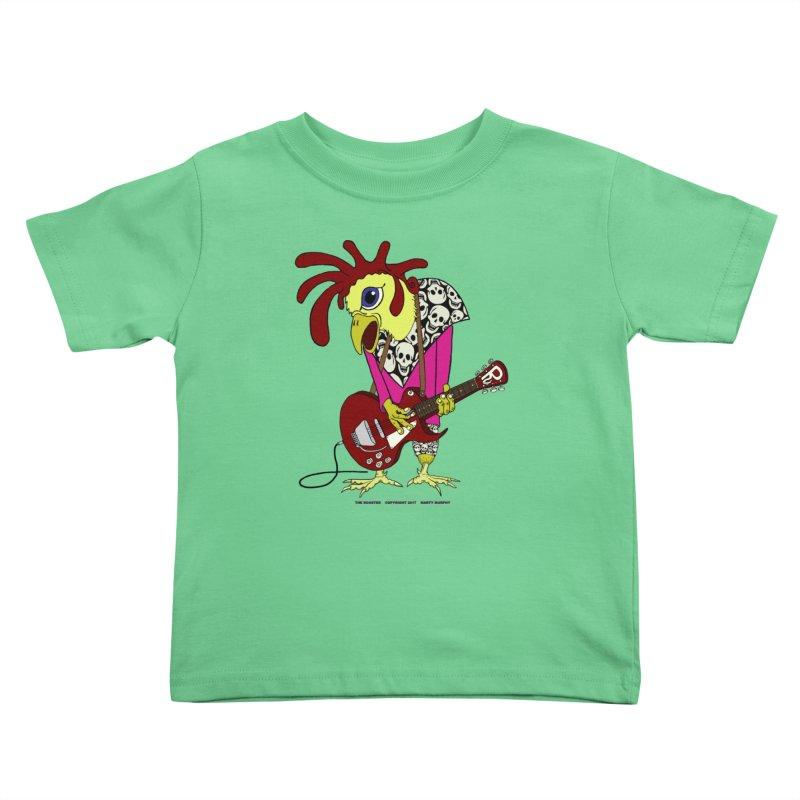 The Rooster Kids Toddler T-Shirt by Spiral Saint - Artist Shop