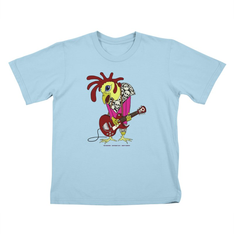 The Rooster Kids T-Shirt by Spiral Saint - Artist Shop