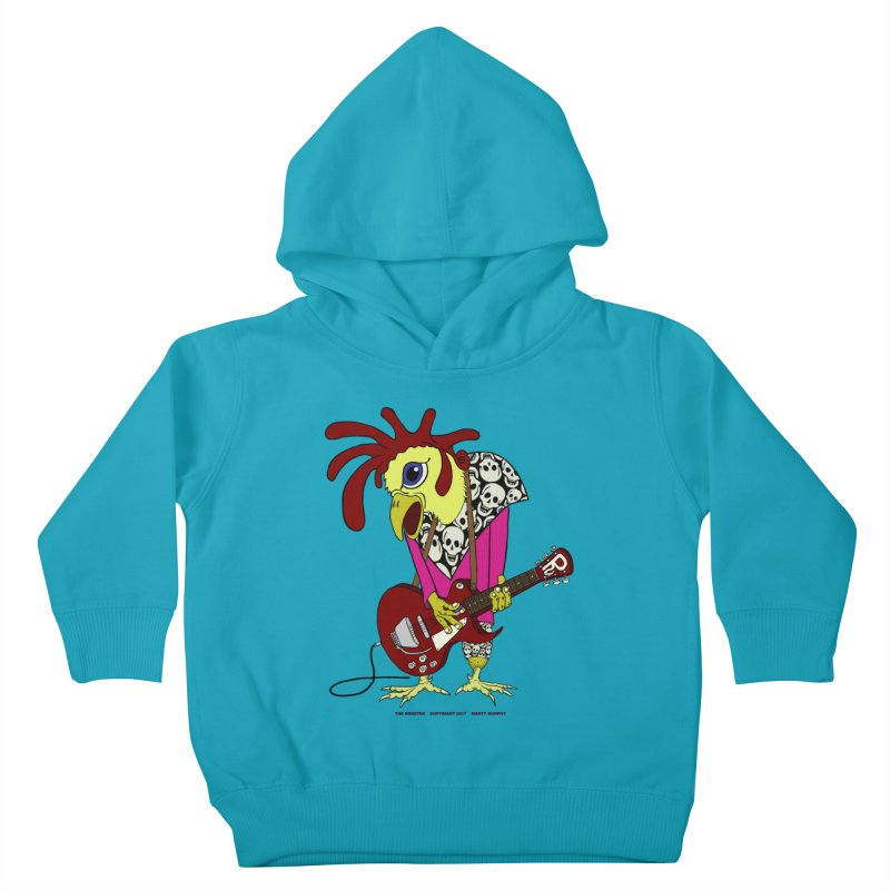 The Rooster Kids Toddler Pullover Hoody by Spiral Saint - Artist Shop