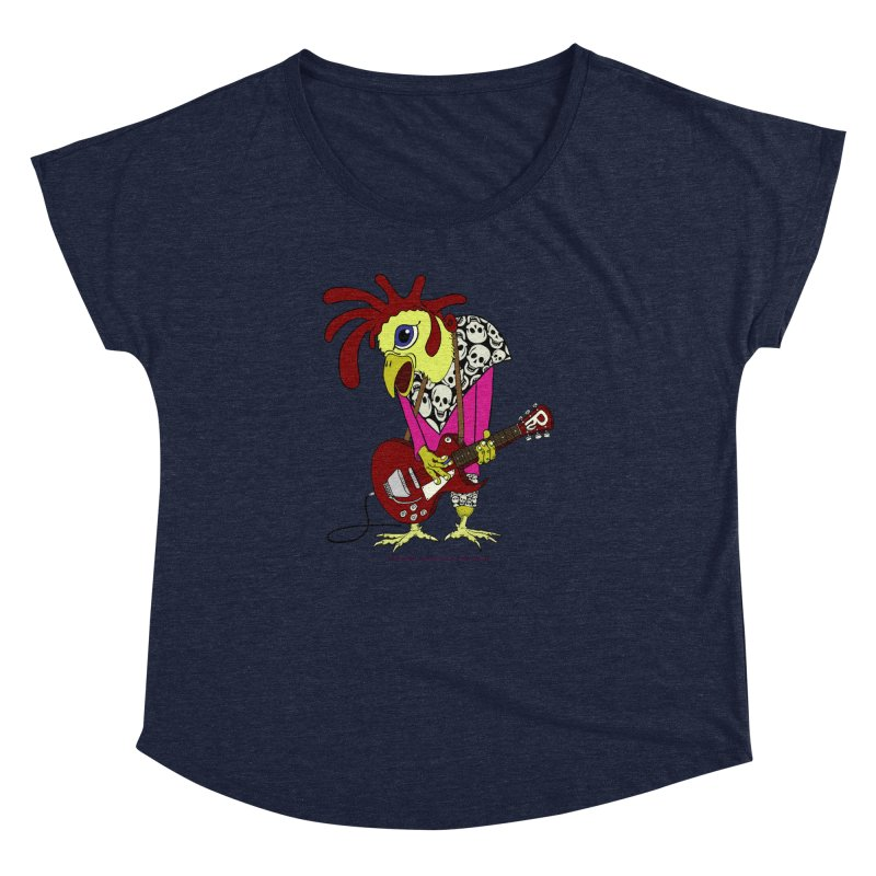 The Rooster Women's Dolman by Spiral Saint - Artist Shop