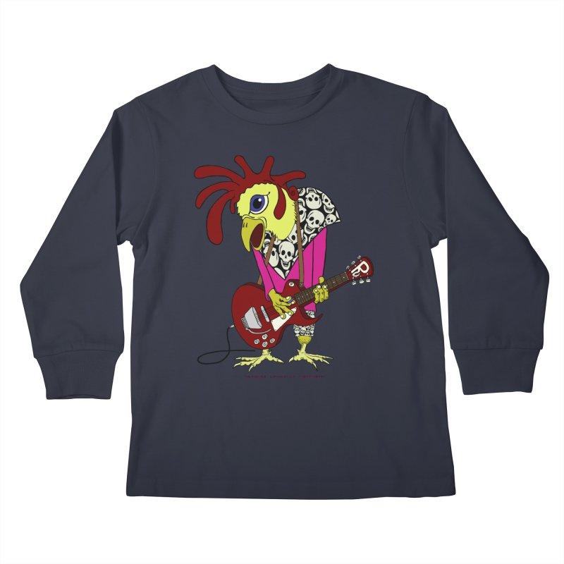 The Rooster Kids Longsleeve T-Shirt by Spiral Saint - Artist Shop