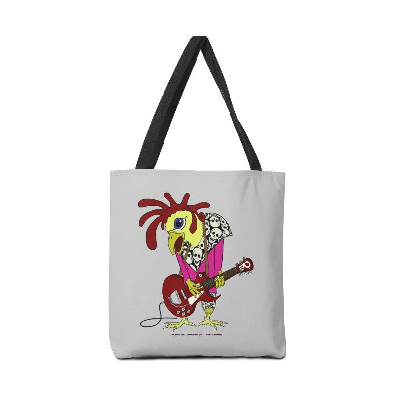 The Rooster Accessories Bag by Spiral Saint - Artist Shop