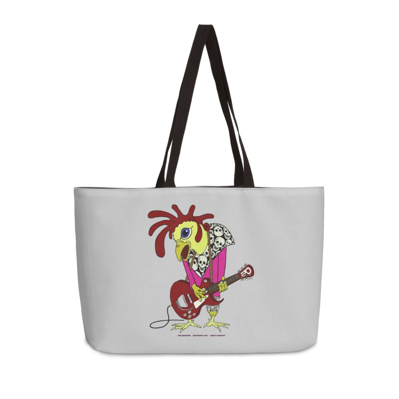 The Rooster Accessories Weekender Bag Bag by Spiral Saint - Artist Shop