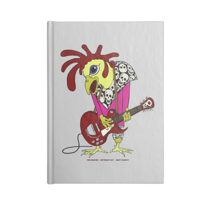 The Rooster Accessories Lined Journal Notebook by Spiral Saint - Artist Shop