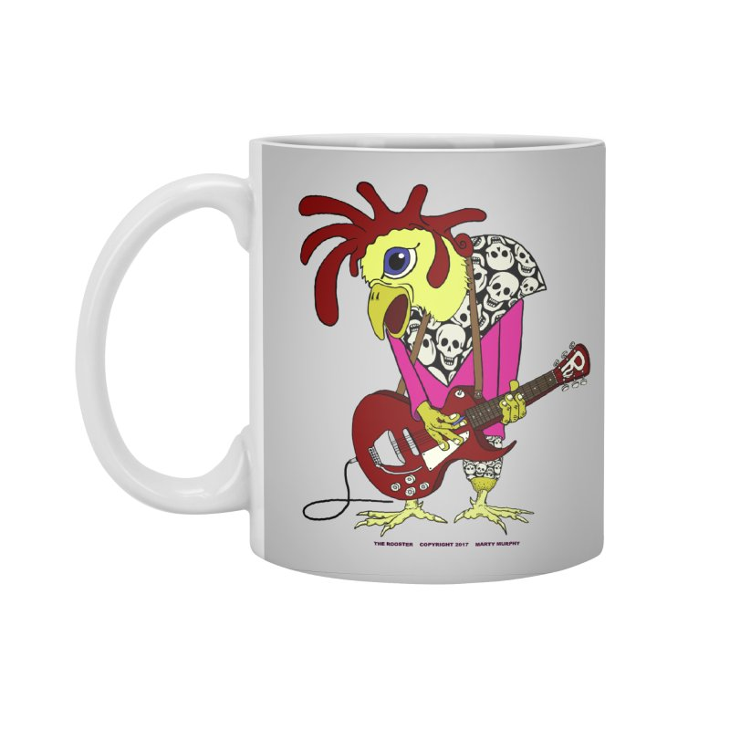 The Rooster Accessories Standard Mug by Spiral Saint - Artist Shop
