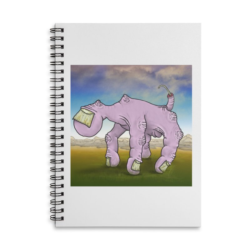 The Walking Hand Accessories Lined Spiral Notebook by Spiral Saint - Artist Shop
