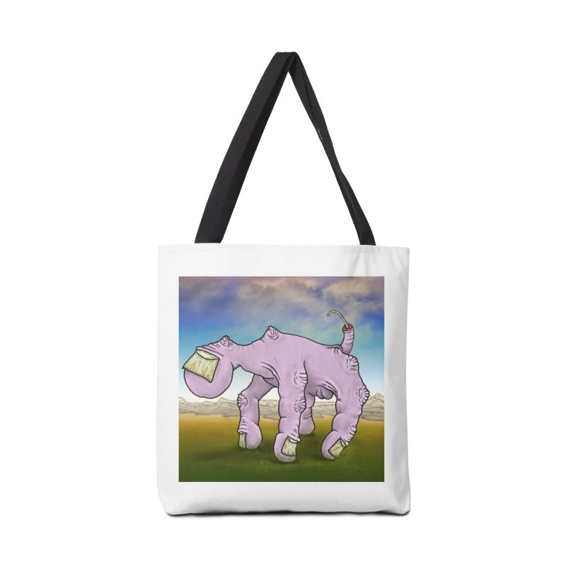 The Walking Hand Accessories Tote Bag Bag by Spiral Saint - Artist Shop