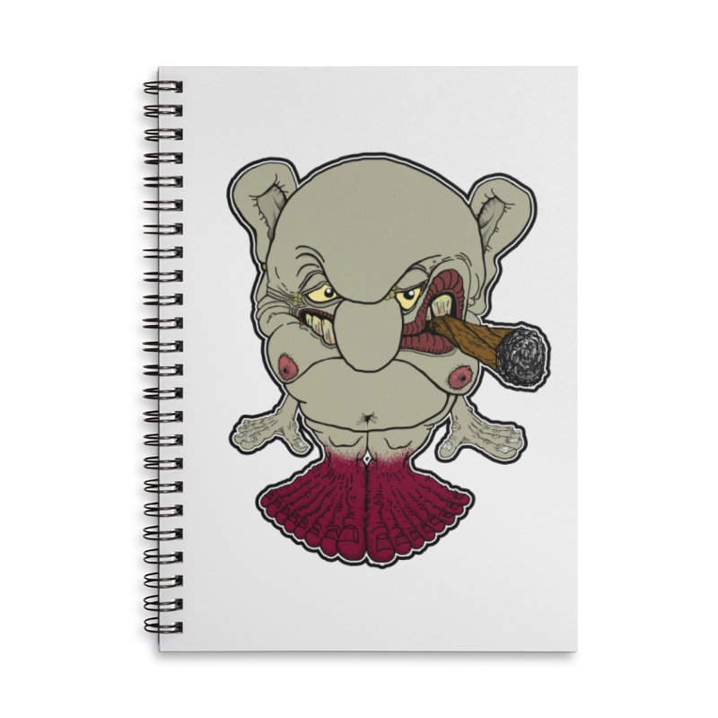 Many Toes Accessories Lined Spiral Notebook by Spiral Saint - Artist Shop
