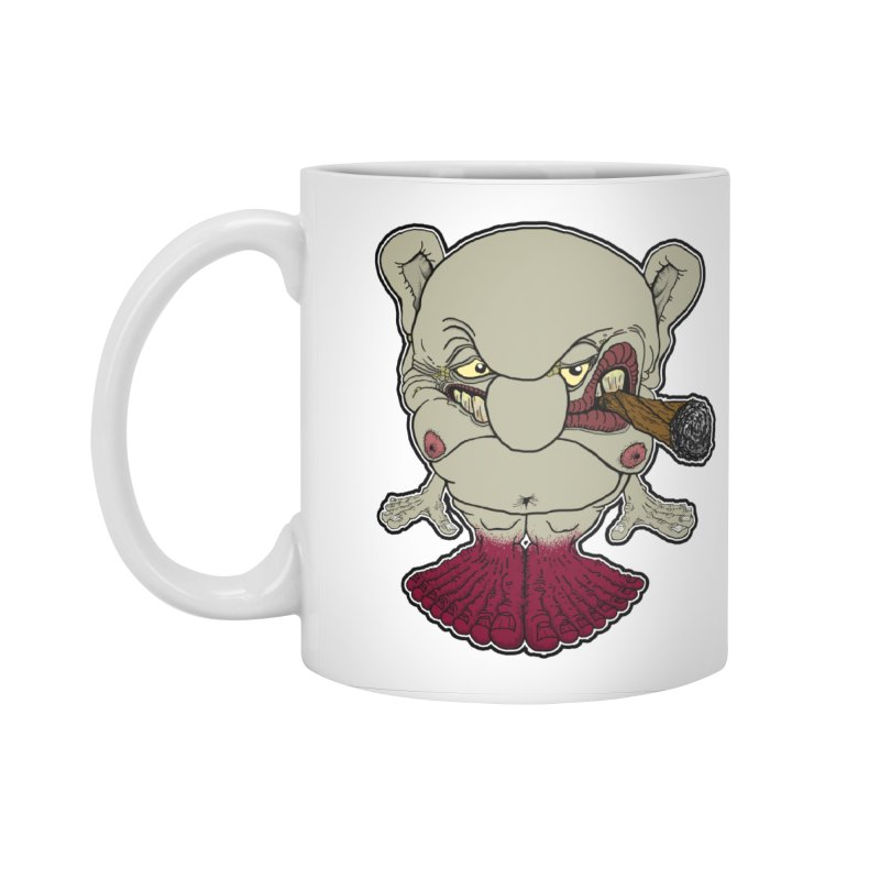 Many Toes Accessories Standard Mug by Spiral Saint - Artist Shop