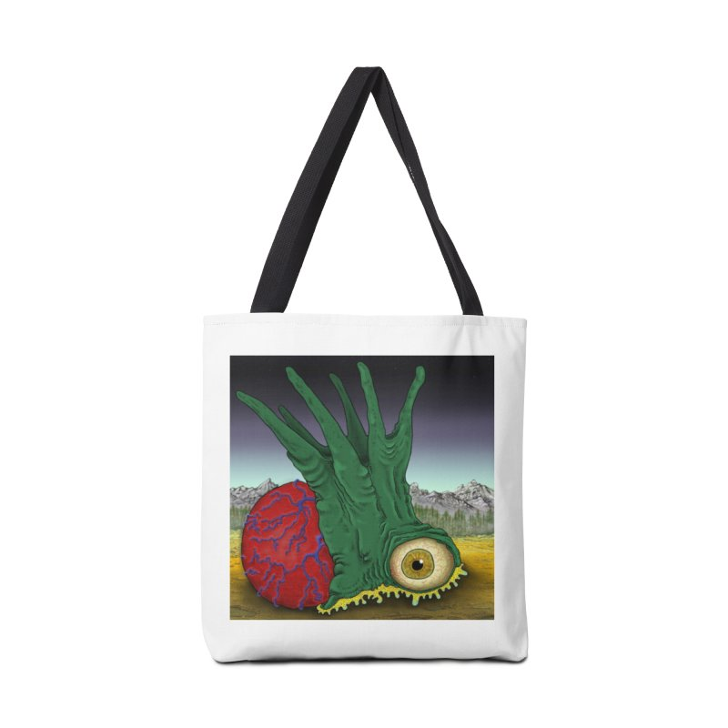 Spike Head Ball Sack Accessories Tote Bag Bag by Spiral Saint - Artist Shop