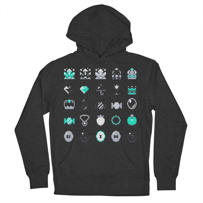 8-Bit Bling Women's Pullover Hoody by Spires Artist Shop