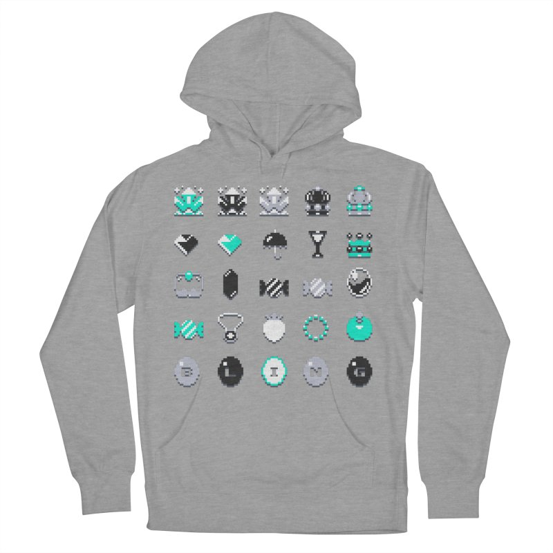 8-Bit Bling Men's Pullover Hoody by Spires Artist Shop