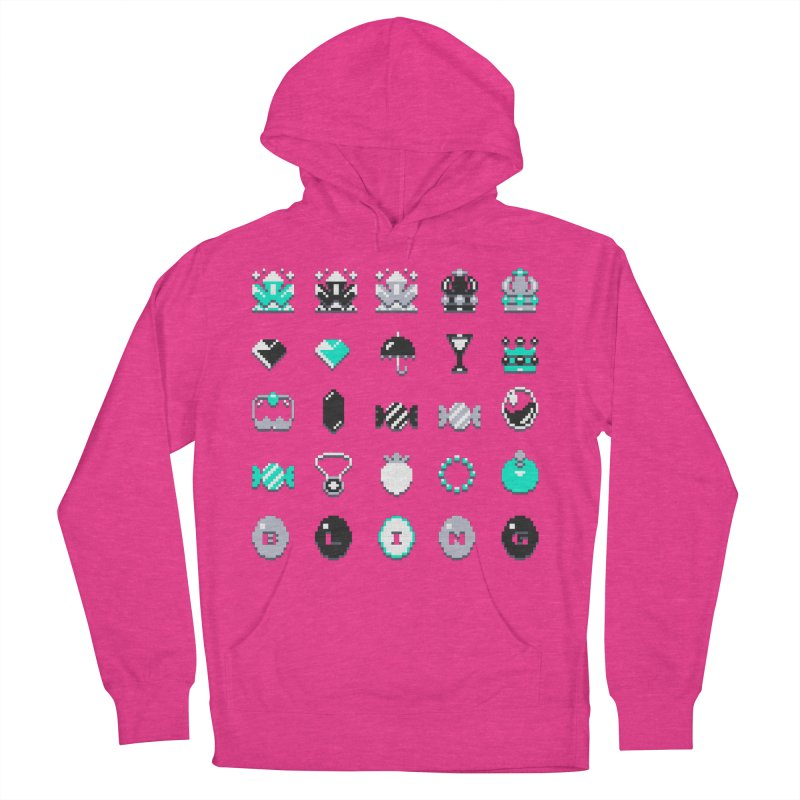 8-Bit Bling Men's Pullover Hoody by Spires Artist Shop