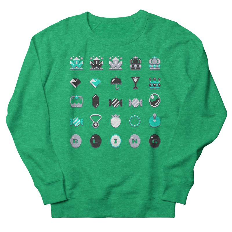8-Bit Bling Men's Sweatshirt by Spires Artist Shop