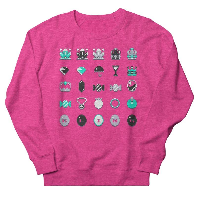 8-Bit Bling Men's Sweatshirt by Spires Artist Shop