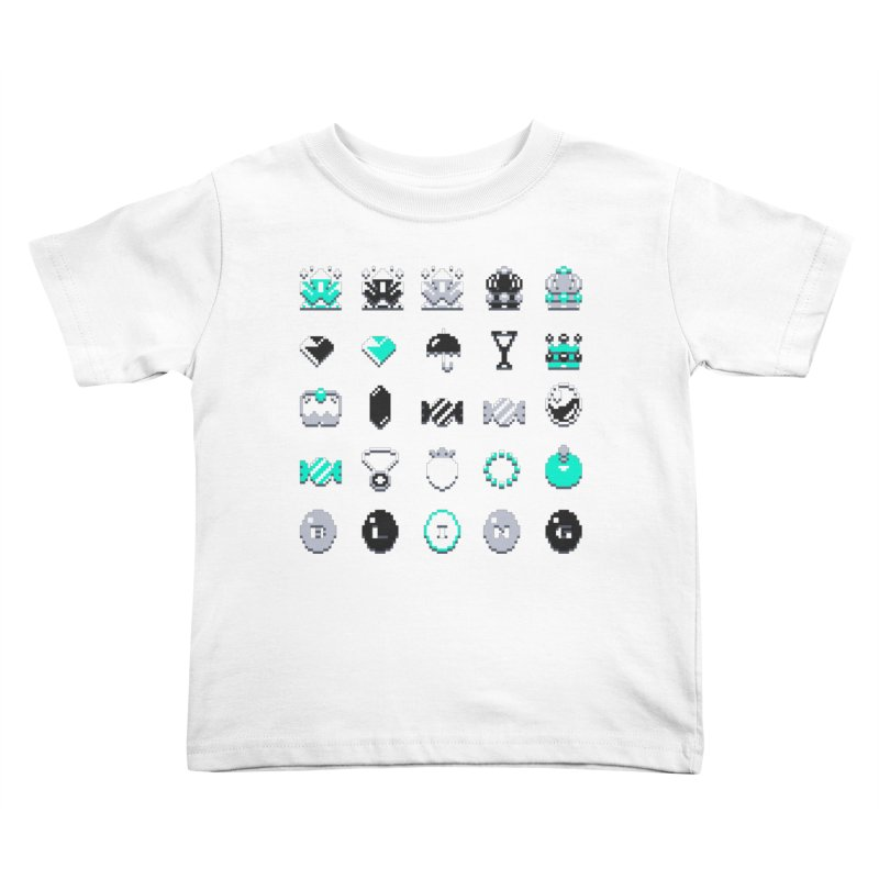 8-Bit Bling Kids Toddler T-Shirt by Spires Artist Shop