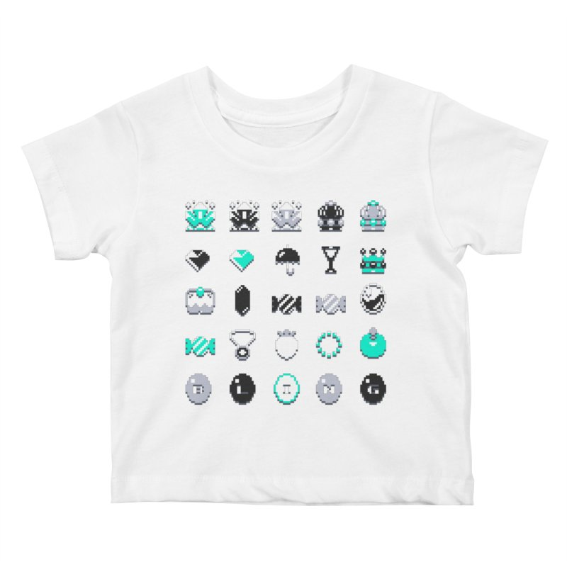 8-Bit Bling Kids Baby T-Shirt by Spires Artist Shop