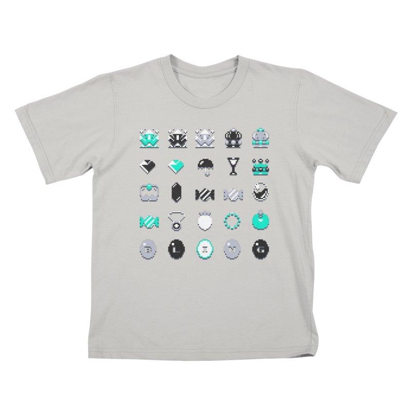 8-Bit Bling Kids T-Shirt by Spires Artist Shop