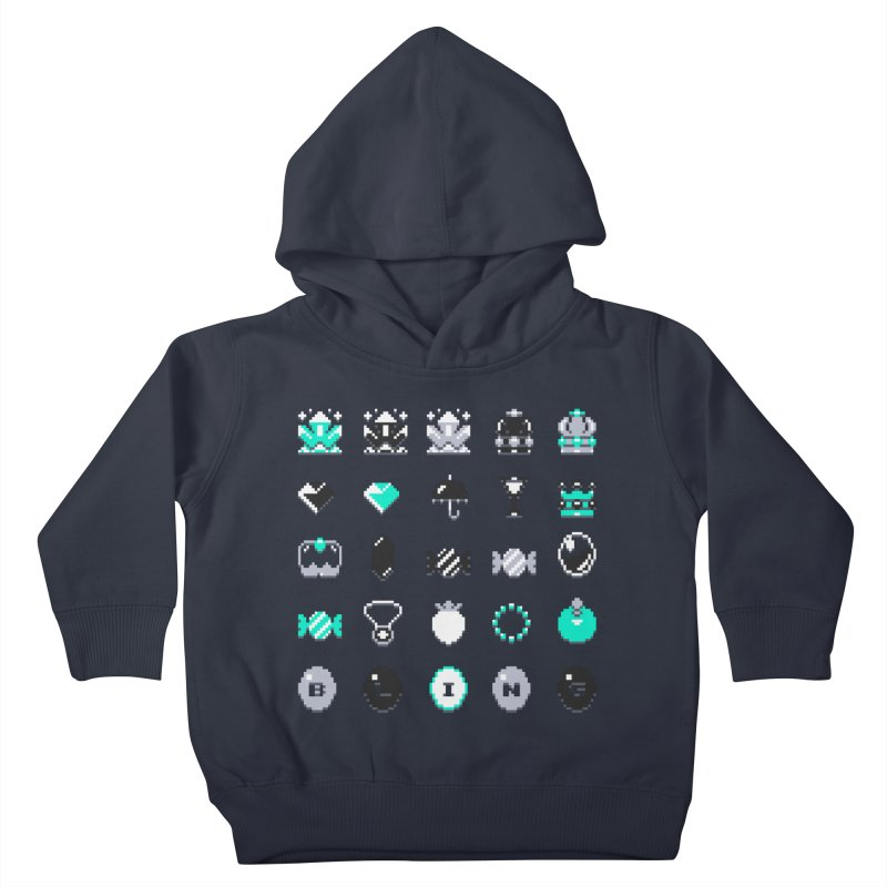 8-Bit Bling Kids Toddler Pullover Hoody by Spires Artist Shop