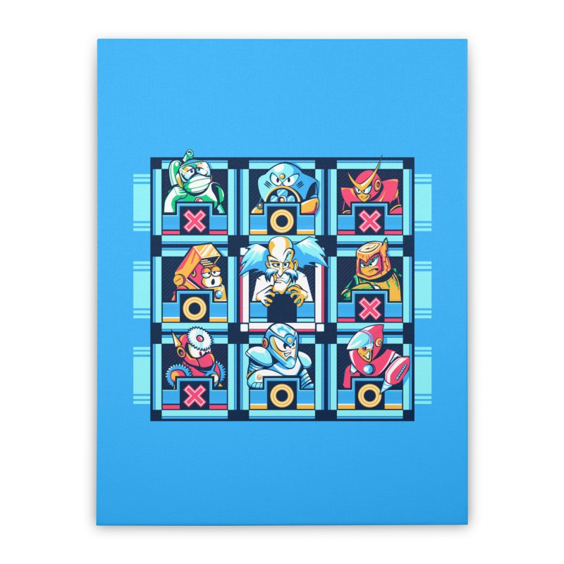 Wily For The Win Home Stretched Canvas by Spires Artist Shop