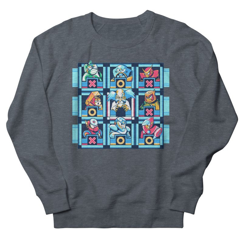 Wily For The Win Men's French Terry Sweatshirt by Spires Artist Shop