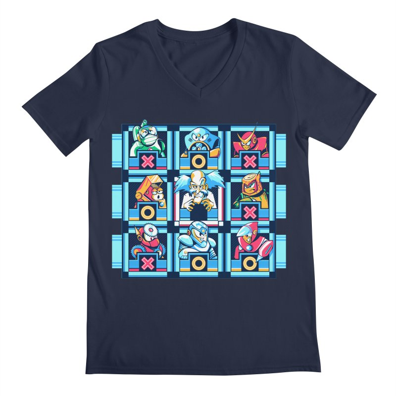Wily For The Win Men's V-Neck by Spires Artist Shop