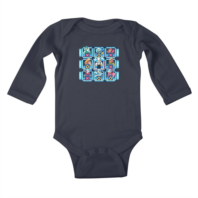 Wily For The Win Kids Baby Longsleeve Bodysuit by Spires Artist Shop