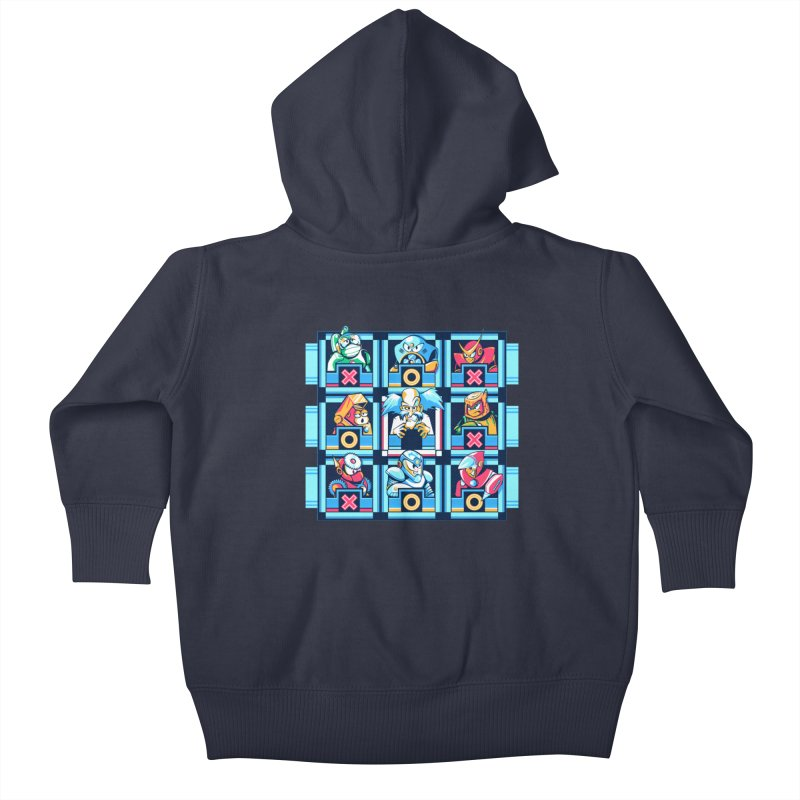 Wily For The Win Kids Baby Zip-Up Hoody by Spires Artist Shop