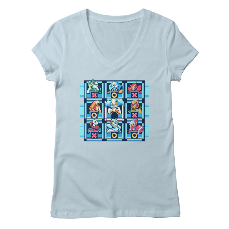 Wily For The Win Women's V-Neck by Spires Artist Shop