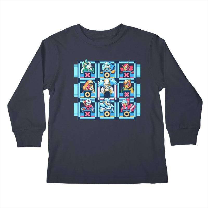 Wily For The Win Kids Longsleeve T-Shirt by Spires Artist Shop