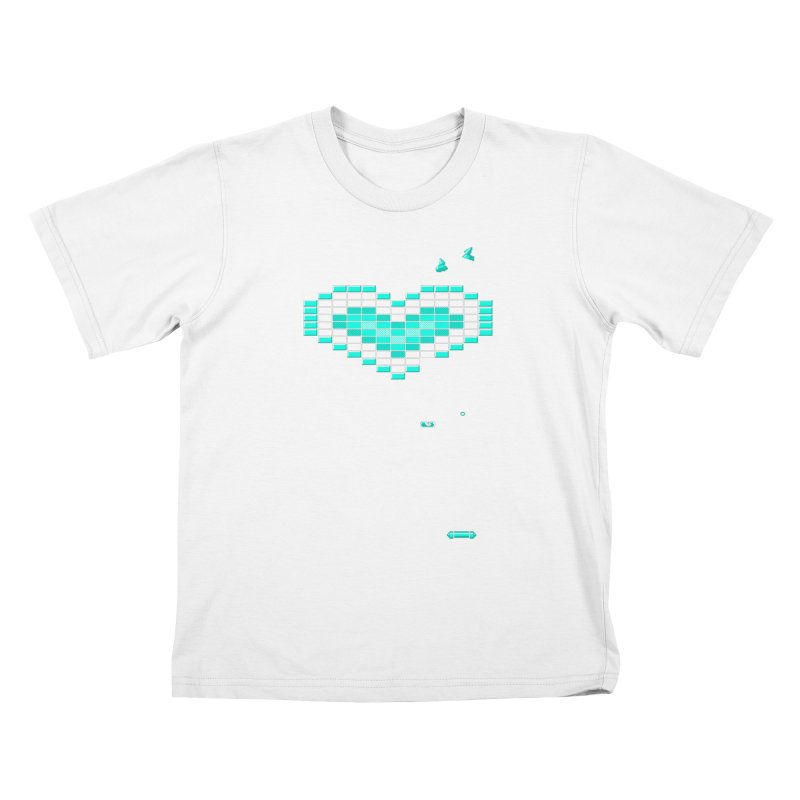 Nostalgia Kids T-shirt by Spires Artist Shop