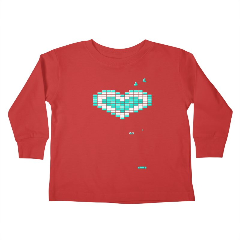 Nostalgia Kids Toddler Longsleeve T-Shirt by Spires Artist Shop