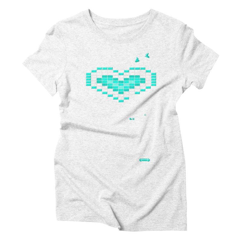 Nostalgia Women's Triblend T-shirt by Spires Artist Shop