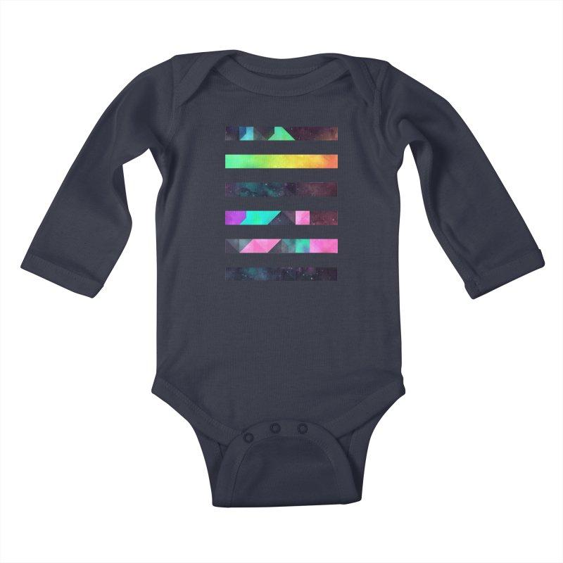 hyppy fxn rysylyxxn Kids Baby Longsleeve Bodysuit by Spires Artist Shop