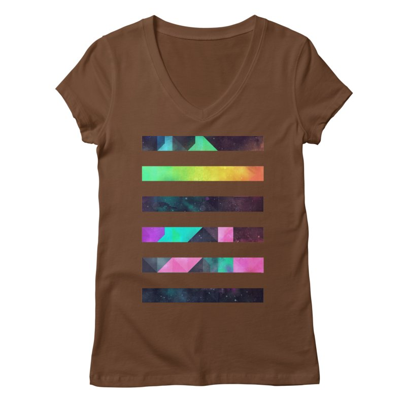 hyppy fxn rysylyxxn Women's V-Neck by Spires Artist Shop