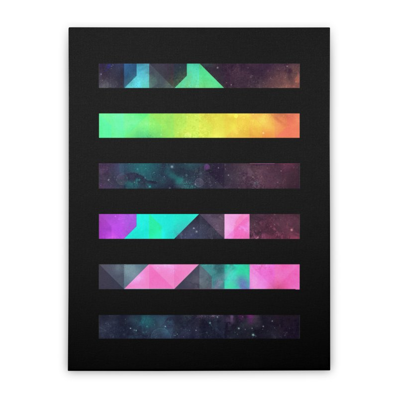 hyppy fxn rysylyxxn Home Stretched Canvas by Spires Artist Shop