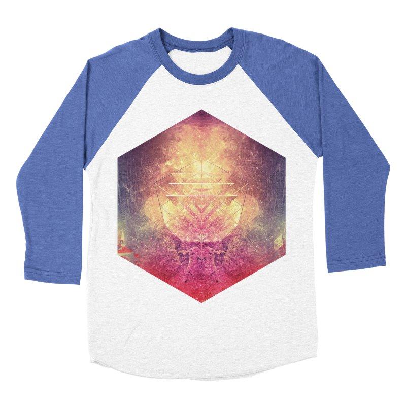 shryyn yf lyys Men's Baseball Triblend T-Shirt by Spires Artist Shop