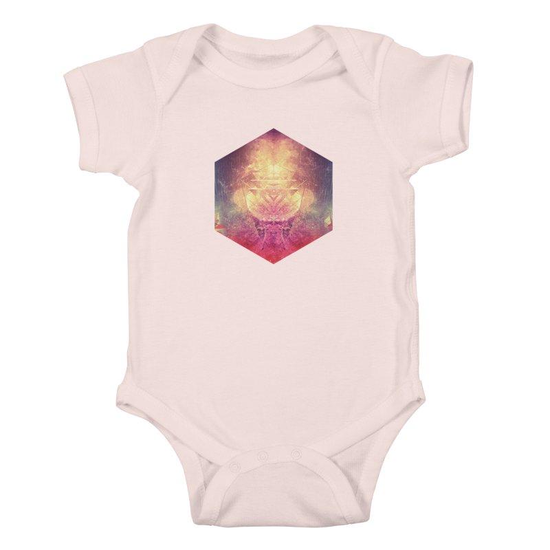 shryyn yf lyys Kids Baby Bodysuit by Spires Artist Shop