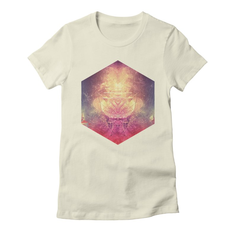 shryyn yf lyys Women's Fitted T-Shirt by Spires Artist Shop